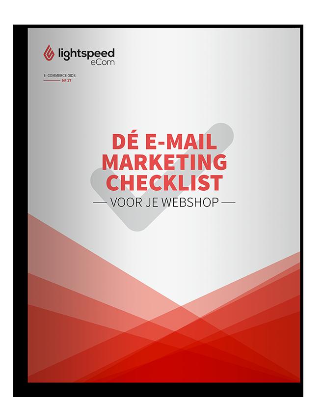 Dé e-mailmarketing checklist voor je webshop