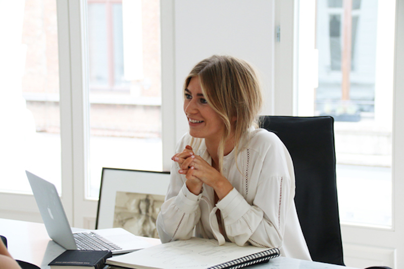 Vrouwelijke ondernemers - Damoy Antwerp Florence Cools